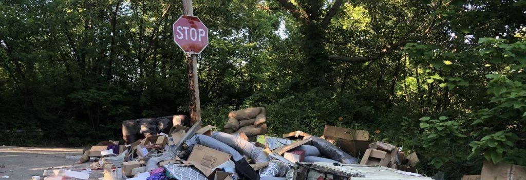 illegális szemétlerakás hulladékudvar lomtalanítás urbanology mondolo